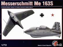 Pavla 72020 Model Kit 1/72 Messerschmitt Me 163S
